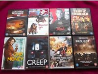 DVD Bundle 9. 8 for £4