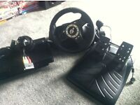 PS2 + Logitech Steering Wheel