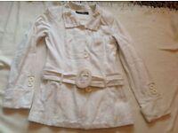 Jane norman ladies coat size: 8 used £12