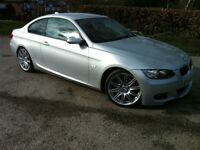 BMW 3 Series 3.0 335d M Sport 2dr Coupe - Fully Loaded, Red Leathers, Motorway Miles, Mint Condition