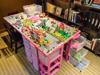 LEGO FRIENDS MASTER TABLE SET-UP FOR GIRLS