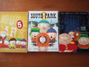 South Park DVD Seasons 5, 8 &10 $20 OBO