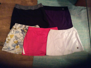 Girls/ladies golf clothing, shoes and belts