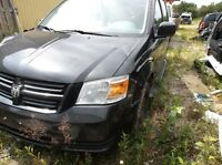 2008-2010 Dodge Grand Caravan PARTING OUT ONLY
