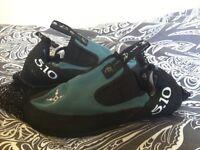 Anasazi slip on climbing shoes