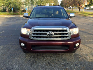 ****2008 TOYOTA SEQUOIA LIMITED LOADED 8 PASSENGER DVD****
