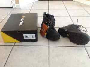 New Terra steel toe men boots