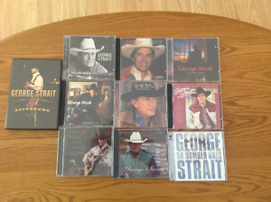 George Strait Fans - 1 DVD - 9 CD's