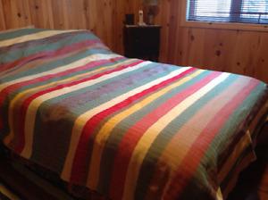 Couverture de laine tisée à la main