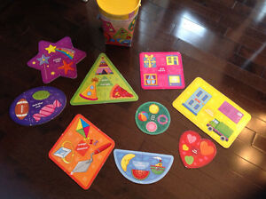 INFANTINO COLORS & SHAPES PUZZLES