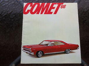 1966 Comet dealer showroom catalog