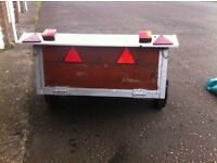 Car trailer 5ft by3.6 ft