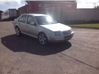 24/7 Trade sales NI Trade Prices for the public 2004 Volkswagen Bora 1.9 TDI SE 6 Speed Silver