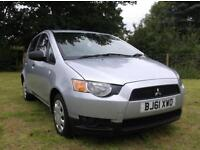 Mitsubishi Colt 1.1 CZ1 5 Dr. 2011 61 Only 37,000 Miles From New With FSH