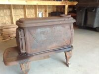 Pot Belly Antique Wood Stove