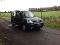 24/7 Trade sales NI 2008 Peugeot Partner Combi 1.6 HDI Full mot Wheel chair adapted