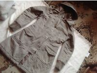 Seven hill ladies coat with hoody size: 38/12 used £3