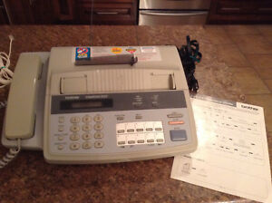 Brother fax machine and HP desk jet 845c printer.