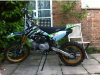 Kmx140 pit bike