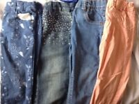Girls jeans aged 3-4yrs