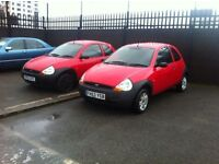 2004 MODEL FORD KA 1.3 CHOICE OF 2 ONLY 45K MILES *JUST REDUCED BY 500*