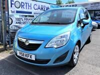 VAUXHALL MERIVA EXCLUSIV CDTI 2011 Diesel Automatic in Blue