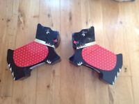 2 Scottie Dog biscuit tins