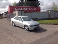 24/7 Trade sales NI Trade prices for the public 2001 Lexus IS 200 Sport LSd motd June 17