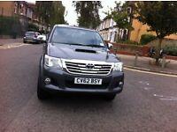 2012 TOYOTA HILUX 2.5 CREW CAB
