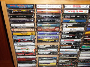 CASSETTES: USED and NEW