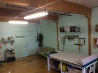 Sewing studio / workroom to sublet