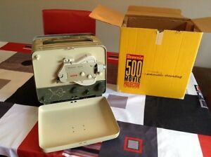 Movie projector  500 brownie