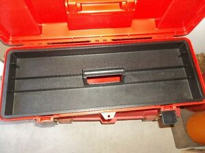 "1 - 26"" LONG TOOL BOXE WITH REMOVABLE TOOL TRAY (RED) Belleville Belleville Area image 2"