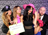 Photo booth rental for wedding and birthday