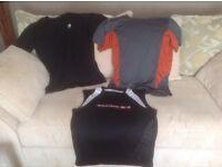3 mens gym / training / sports tops XL £2 each