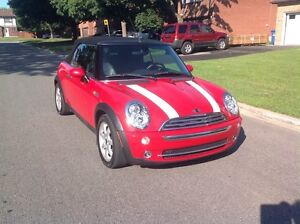 Mini Coop Cabriolet Chili Red
