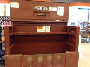 Long Drop-Front Piano Lid Box w/ Site-Vault System #HFHReStore