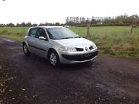 24/7 Trade sales NI Trade Prices for the public 2008 Renault Megane 1.5 DCI Authentique
