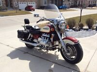 1998 Valkyrie 2 tone, red and cream,  $9200.00. spring special