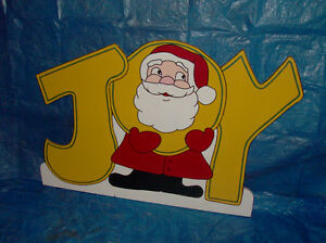 Hand-painted wooden Christmas lawn ornaments London Ontario image 7