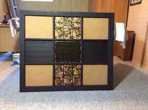 Upcycled Vintage Window Pane Memo Board