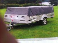 Pennine Countryman platinum folding camper 2010 with motor mover