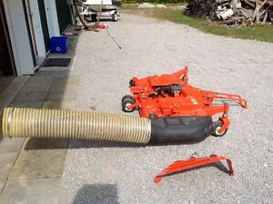 Kubota commercial grade mower deck and grass catcher Kawartha Lakes Peterborough Area image 2