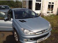 PUG 206 CC MINT CAR DIESEL. 2006.