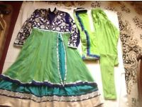 """Brand new Indian suit 3 pieces size: 12/40"""" new £20"""