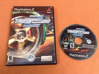 Need For Speed Underground 2  Black Label  Playstation 2 Ps2 Game W  Case