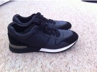 2 pairs of Louis Vuitton trainers men's size 9