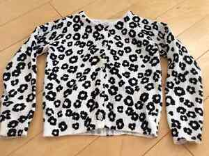 Worn once Gymboree leopard print cardigan size 4