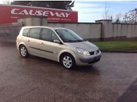 24/7 Trade sales NI trade prices for the public 2006 Renault grand scenic 7 seater motd August 17