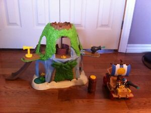 Jake and the Neverland Pirates hideout